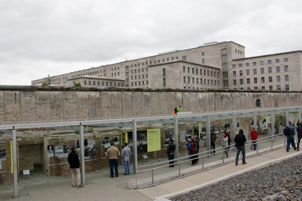 Berlin - ancien quartier de la Gestapo