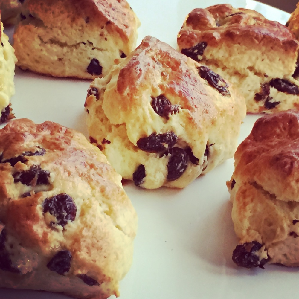 scone-raisin